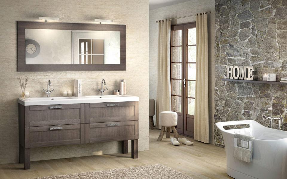meuble de salle de bains empreinte de delpha 1 - Meuble De Salle De Bain Delpha