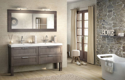 Aperçu Empreinte meubles de salle de bains chez DELPHA