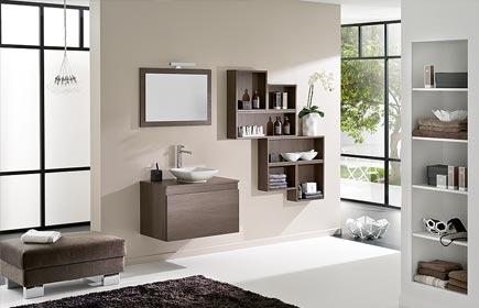 Aperçu D Motion meubles de salle de bains chez DELPHA