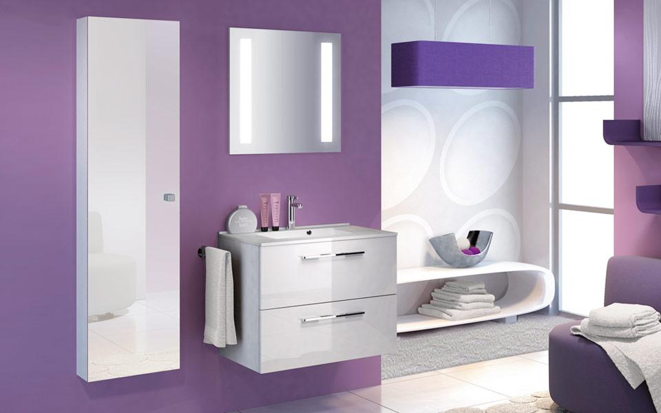 Meuble salle de bain delpha graphic go70c atout kro - Meuble salle de bain delpha ...