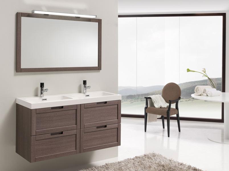 Meuble salle de bain ibx greta 120 atout kro Meuble salle de bain 120