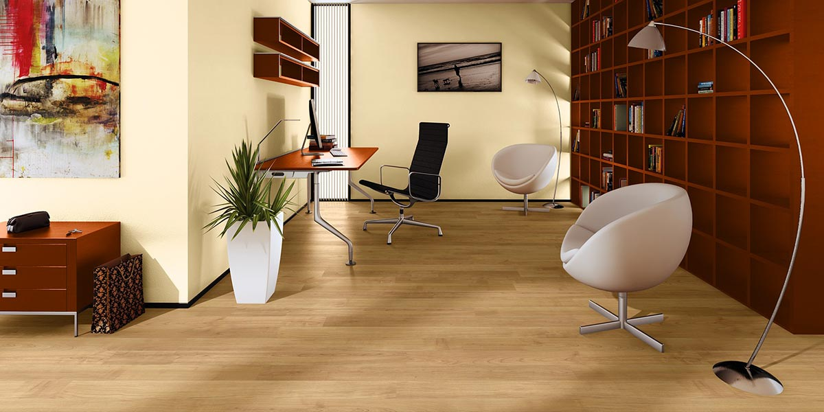 Parquet Cerisier verni naturel de Quick Step 1