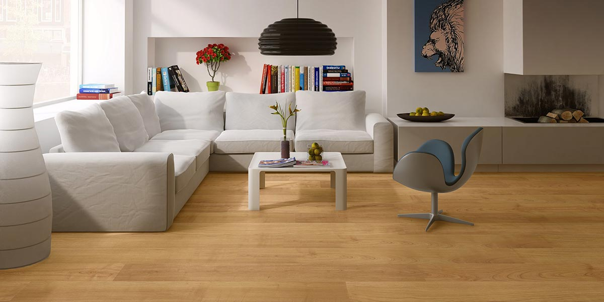 Parquet Cerisier verni naturel de Quick Step 4