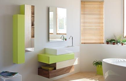 Aperçu Pacific meubles de salle de bains chez SANIJURA
