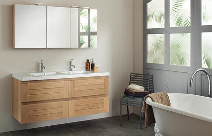 Aperçu Lignum meubles de salle de bains chez SANIJURA