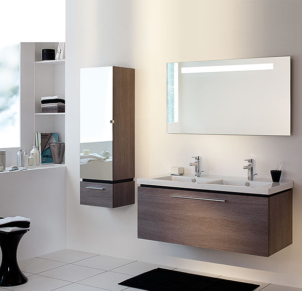 meuble salle de bain sanijura lateral atout kro. Black Bedroom Furniture Sets. Home Design Ideas