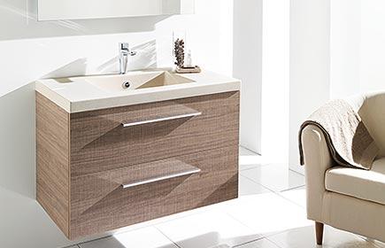 Aperçu Divine meubles de salle de bains chez AMBIANCE-BAIN