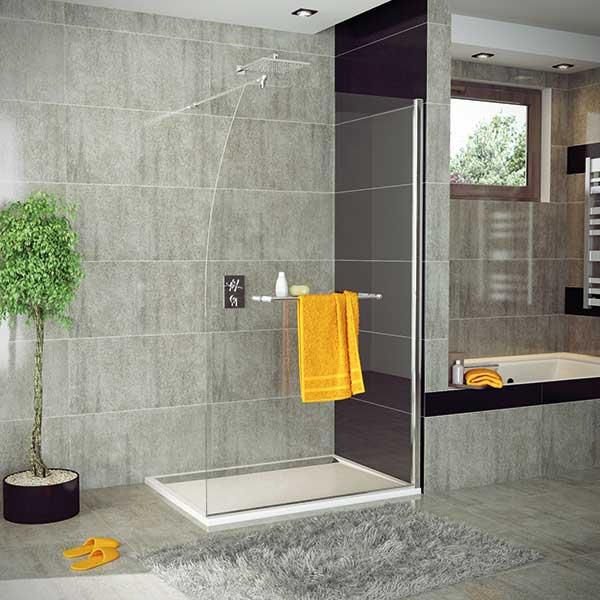 Paroi de douche sanswiss voilier atout kro for Porte serviette douche