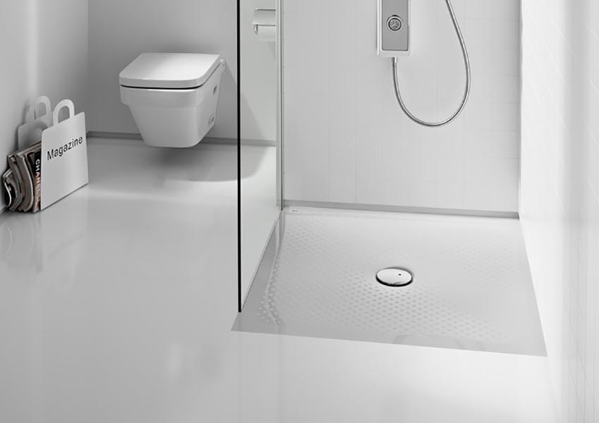 Receveur de douche roca in floor atout kro for Roca salle de bain