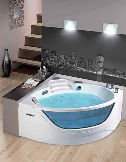 Baignoires baignoire baignoire balneo atout kro - Baignoire deux personnes ...