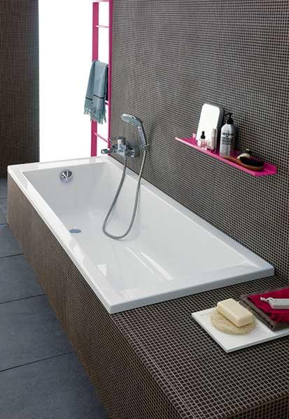 baignoire rectangulaire allia prima style atout kro. Black Bedroom Furniture Sets. Home Design Ideas