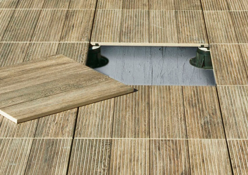 Carrelage cologique exterieur tagina woodays out atout kro for Sol sur carrelage