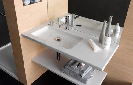 Aperçu Living Square meubles de salle de bains chez Laufen