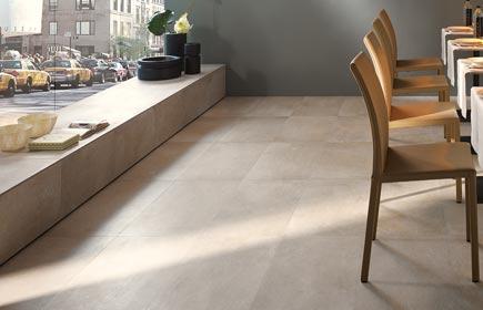 Aperçu Urban concrete Carrelage sol d'intérieur chez Flaviker