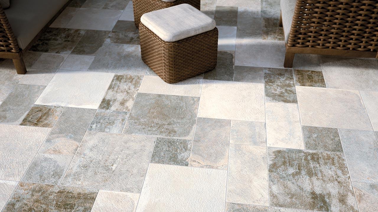 Carrelage ciment century pantheon atout kro for Carrelage 3 dimensions
