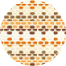 Nuance Beige Orange Brown faïence Smart